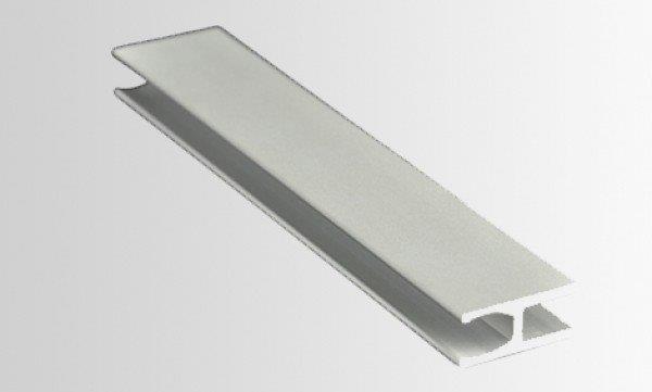 Perfil H de silicone