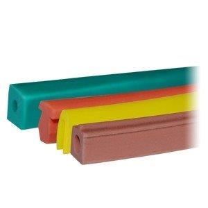 Perfil de silicone para alta temperatura