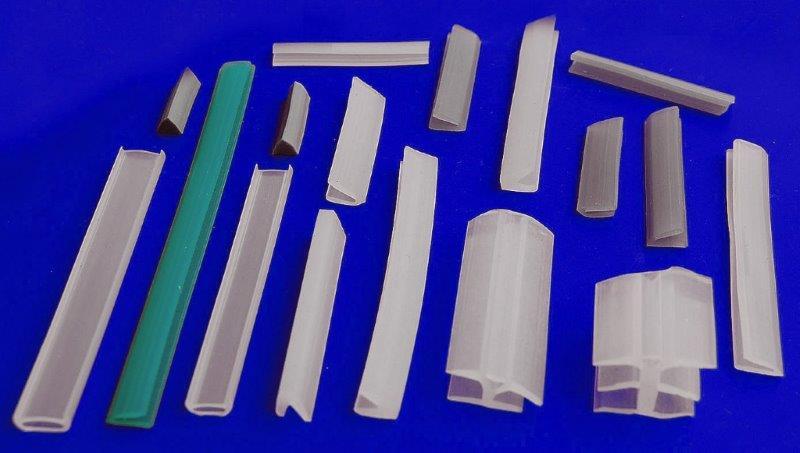 Perfil de silicone para envidraçamento